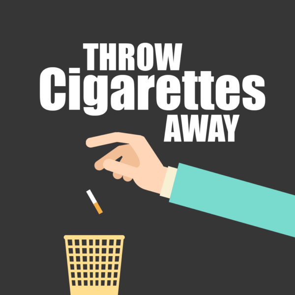 Throw Cigarettes Away